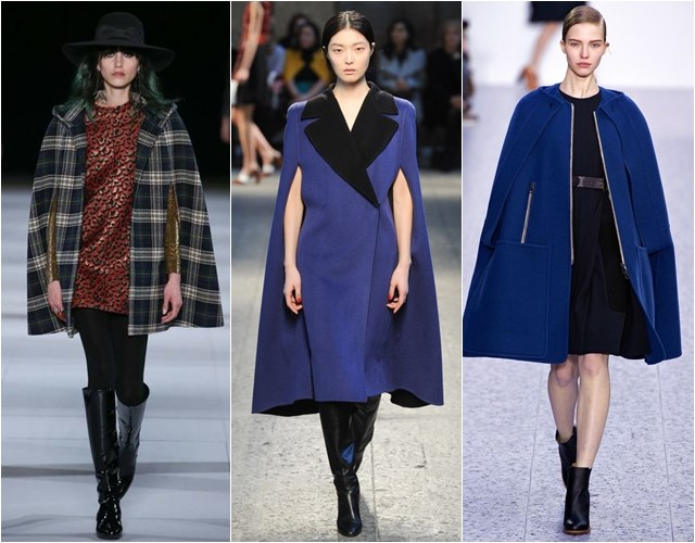 Cape coats Fall-Winter 2014-2015