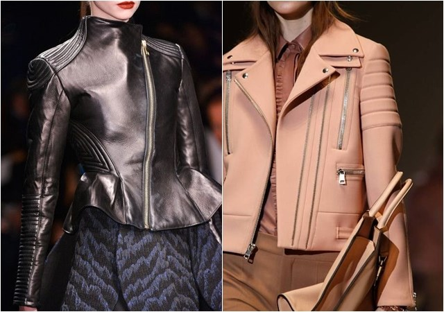 Biker zip Jackets fall winter 2014-2015