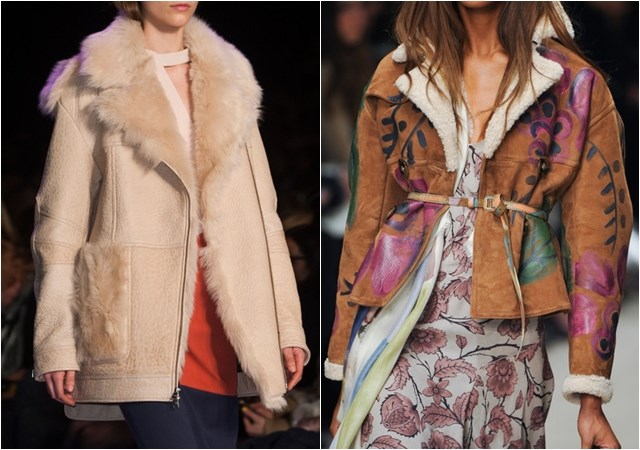 Sheepskin jackets fall winter 2014-2015