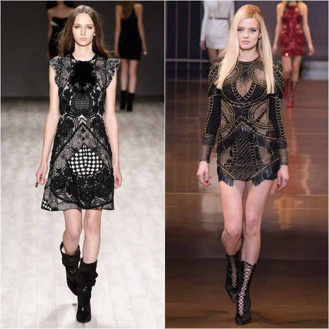 Fall Trends 2014 Cocktail Dresses cocktail Baroque Dresses
