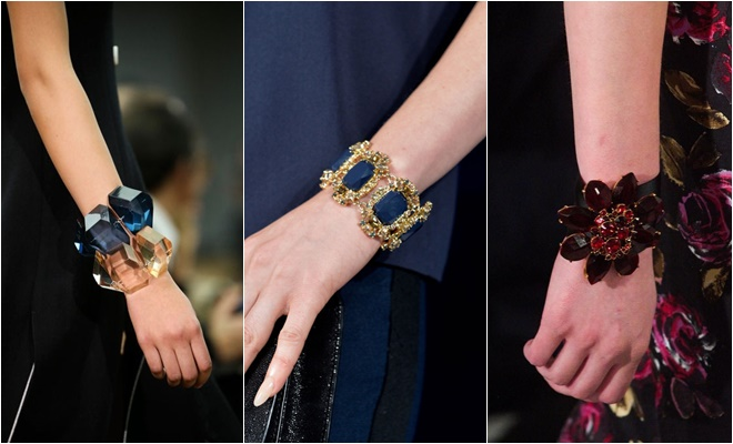 crystal and gem bracelets 2014-2015 Fall-Winter