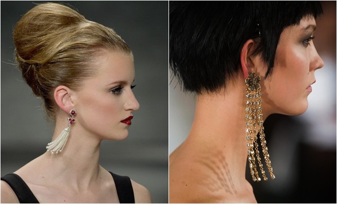 long chain earrings 2014-2015 Fall-Winter