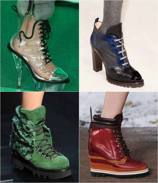 Lace Up Shoes 2014-2015 Fall-Winter Fashion Trends