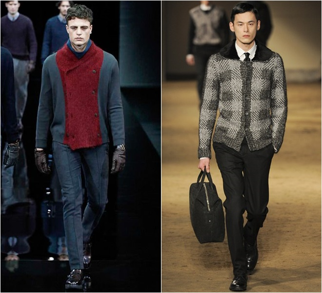 latest Men's Knitted Cardigans 2014-2015 Fall-Winter  (3)