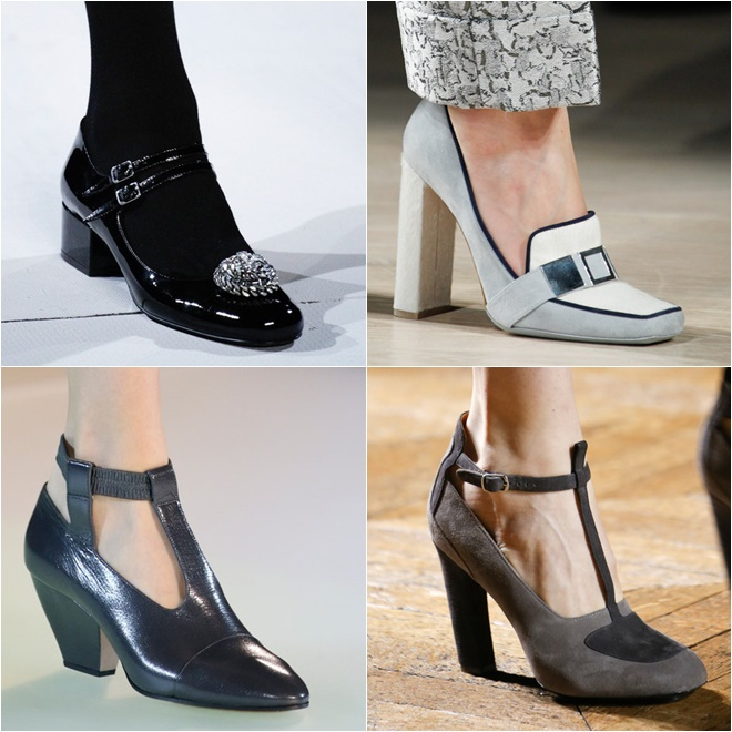Retro Shoes 2014-2015 Fall-Winter Fashion Trends