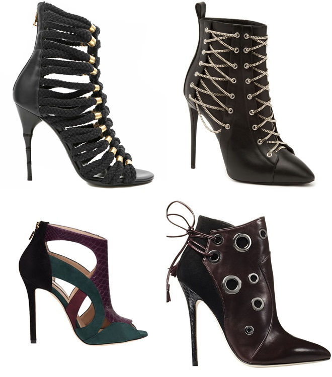 Thin High Heel Ankle Boots 2014-2015 Fall-Winter Trends