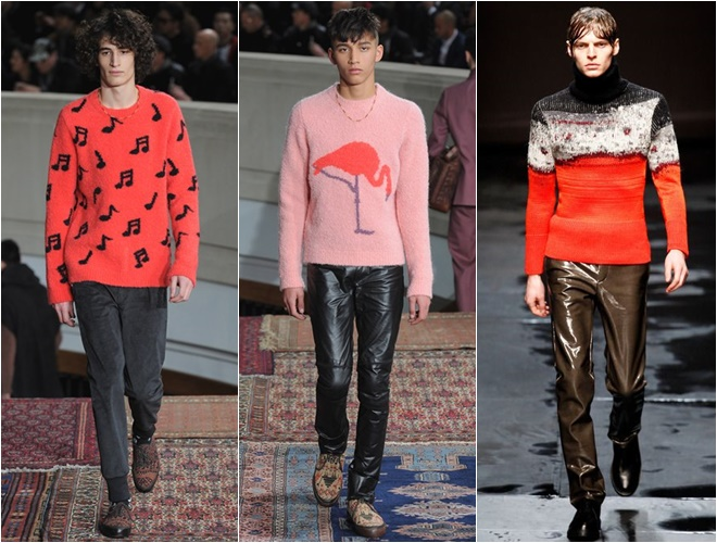 fancy prints on mens sweaters fall-winter 2014-2015 (10)