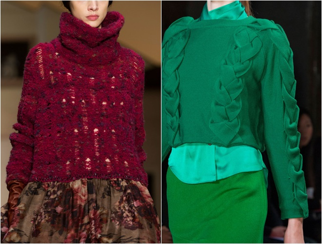 colorful womens sweaters 2014-2015 fall-winter trends (18)