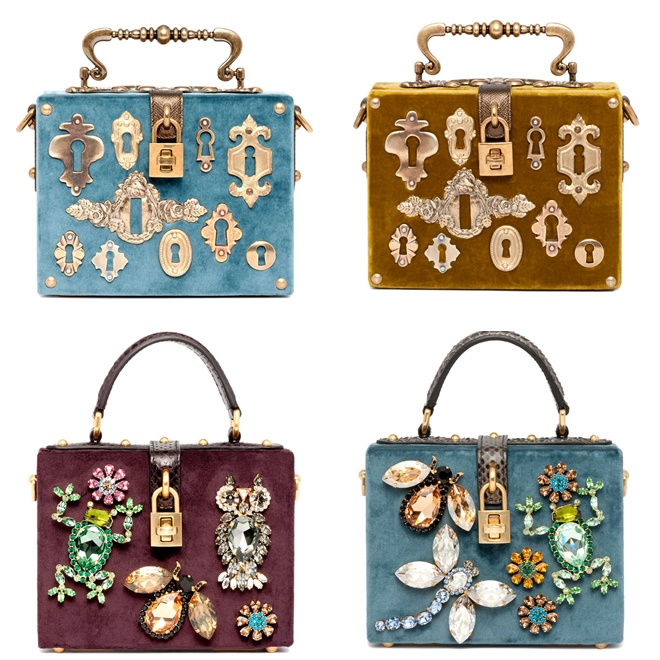 a591a43d7c Dolce   Gabbana Handbags Fall-Winter 2014-2015 Collection