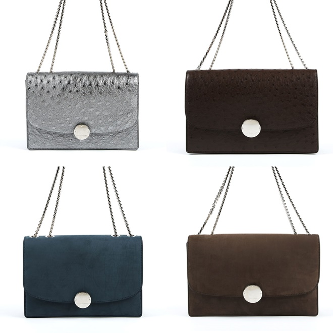 marc jacobs ostrich and suede bags 2014-2015