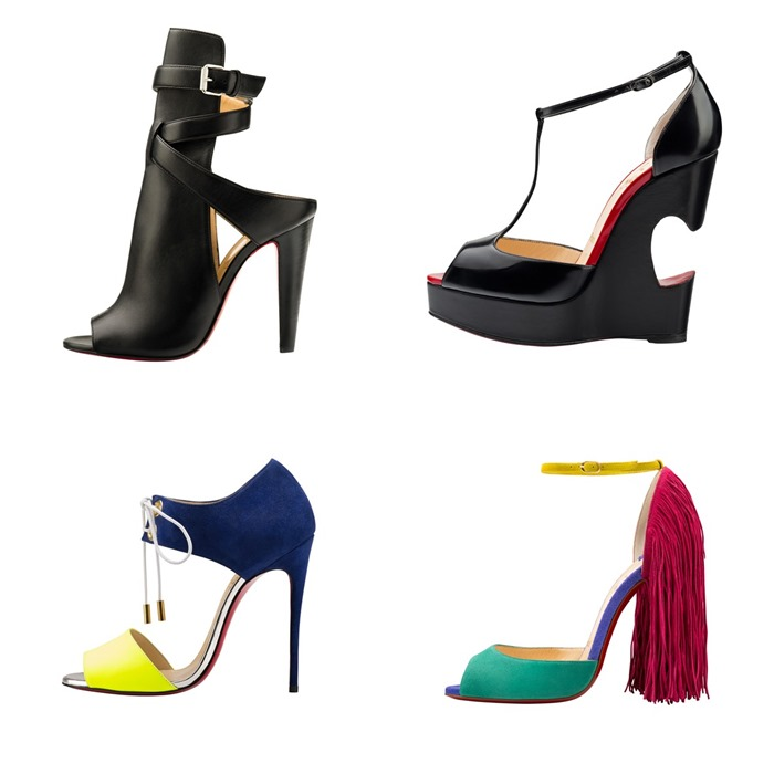 d53363851a77 ... black and bright shoes Christian Louboutin Spring-Summer 2015 ...