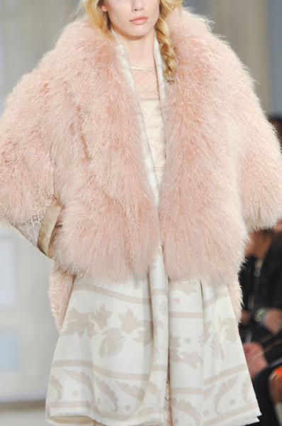 Faux fur coats Winter 2015 Temperley London