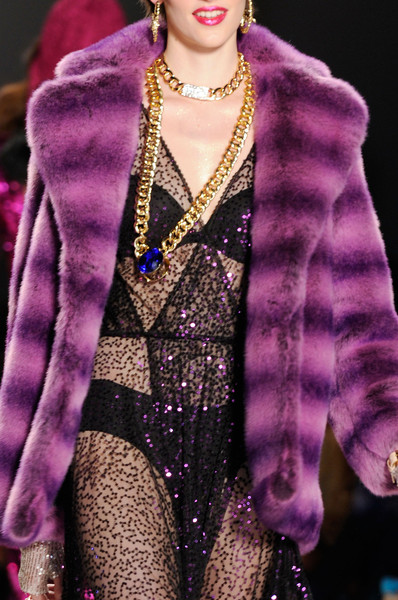 Betsey Johnson Faux fur coats Winter 2015