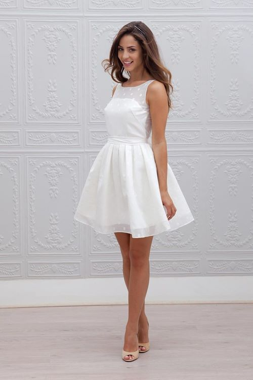 plus size short wedding dress 2015
