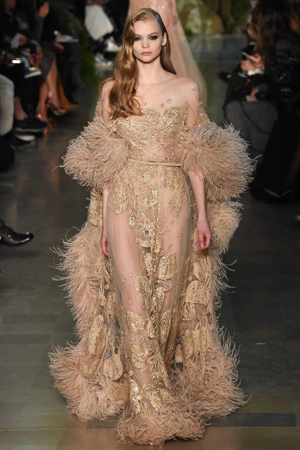 elie saab couture dress spring summer 2015