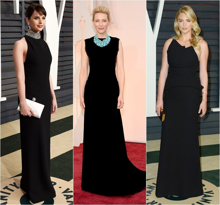 Oscar 2015 dresses: felicity Jones, Cate Blanchett and Kate Upton