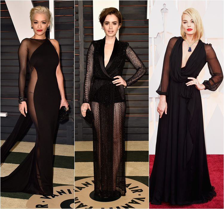 Oscar 2015 dresses: Rita Ora, Lily Collins and Margot Robbie