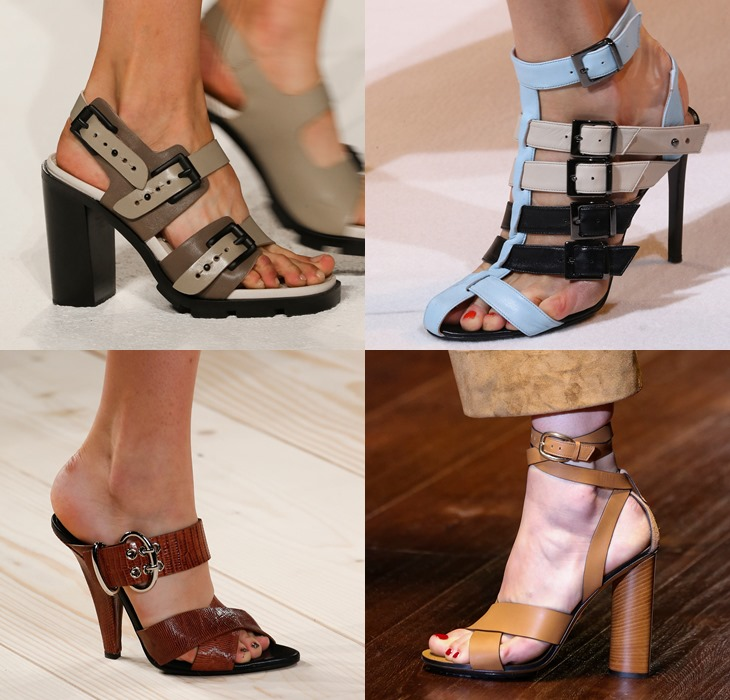 Military style sandals spring summer 2015