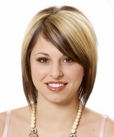 Best short hairstyles for round face-11