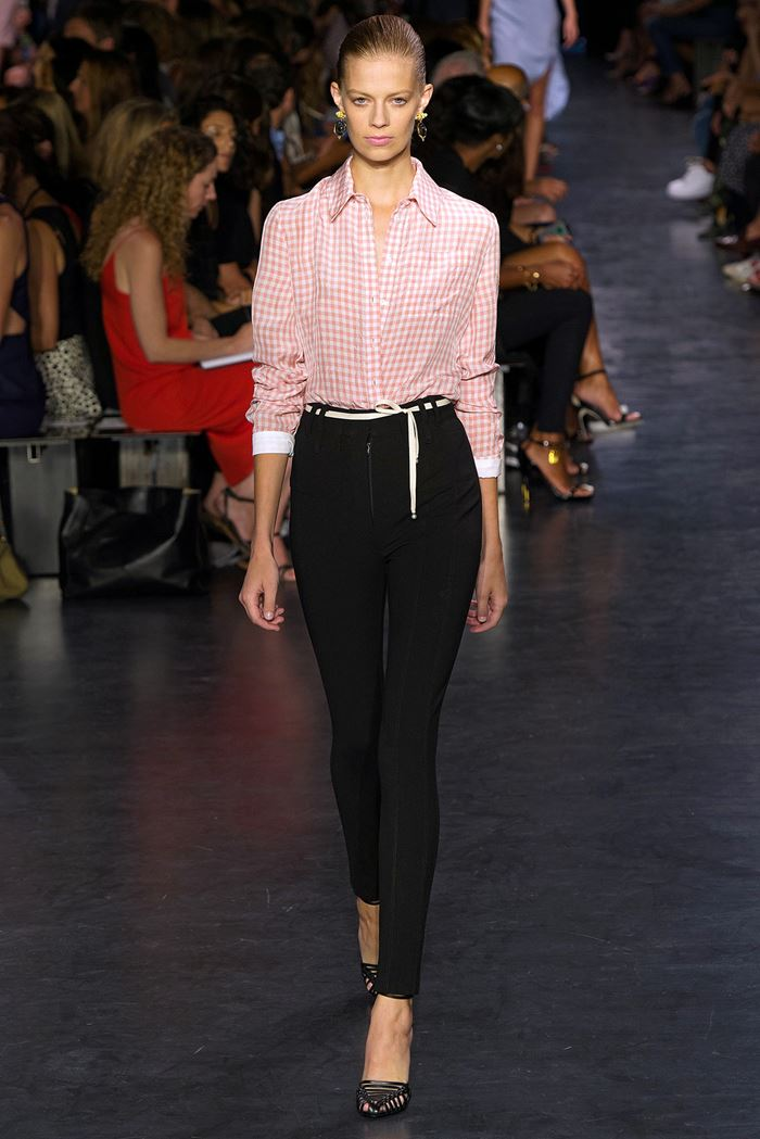Altuzarra plaid shirt spring-summer 2015