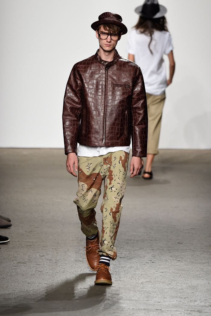 Mark McNairy New Amsterdam men's leather jacket 2015