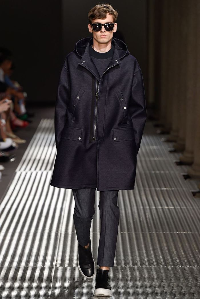 Neil Barrett coat for men spring summer 2015
