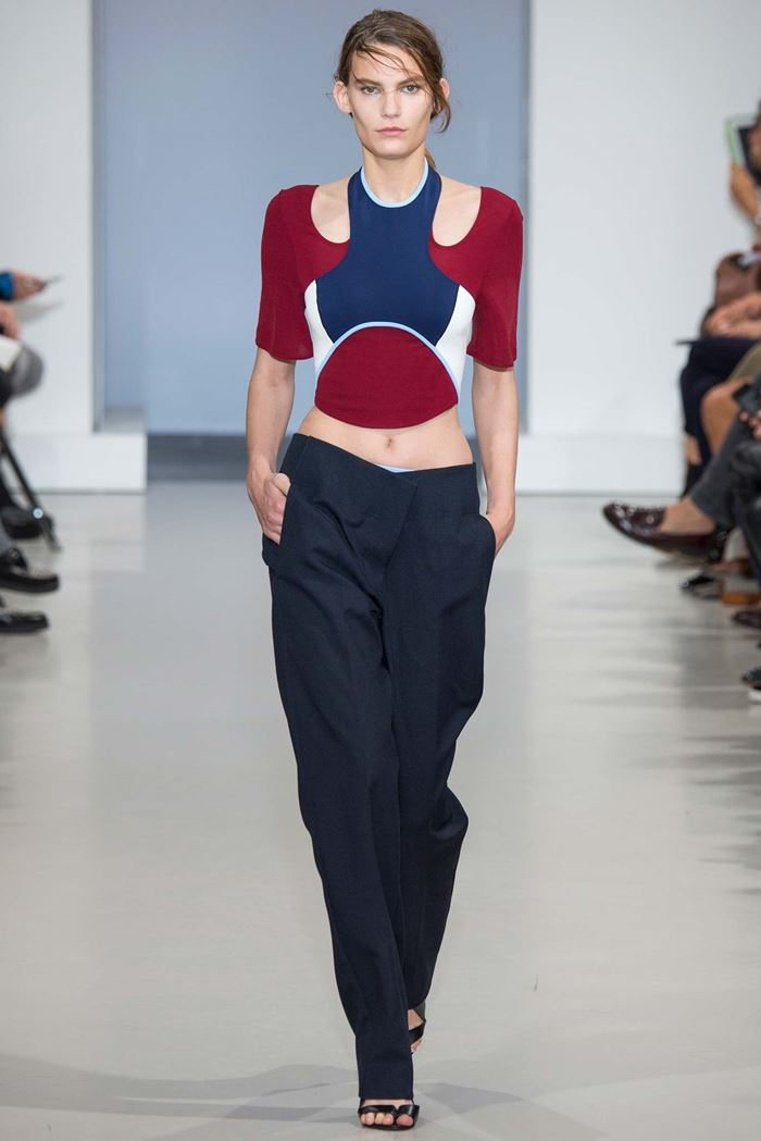 Paco Rabanne baggy pants spring-summer 2015