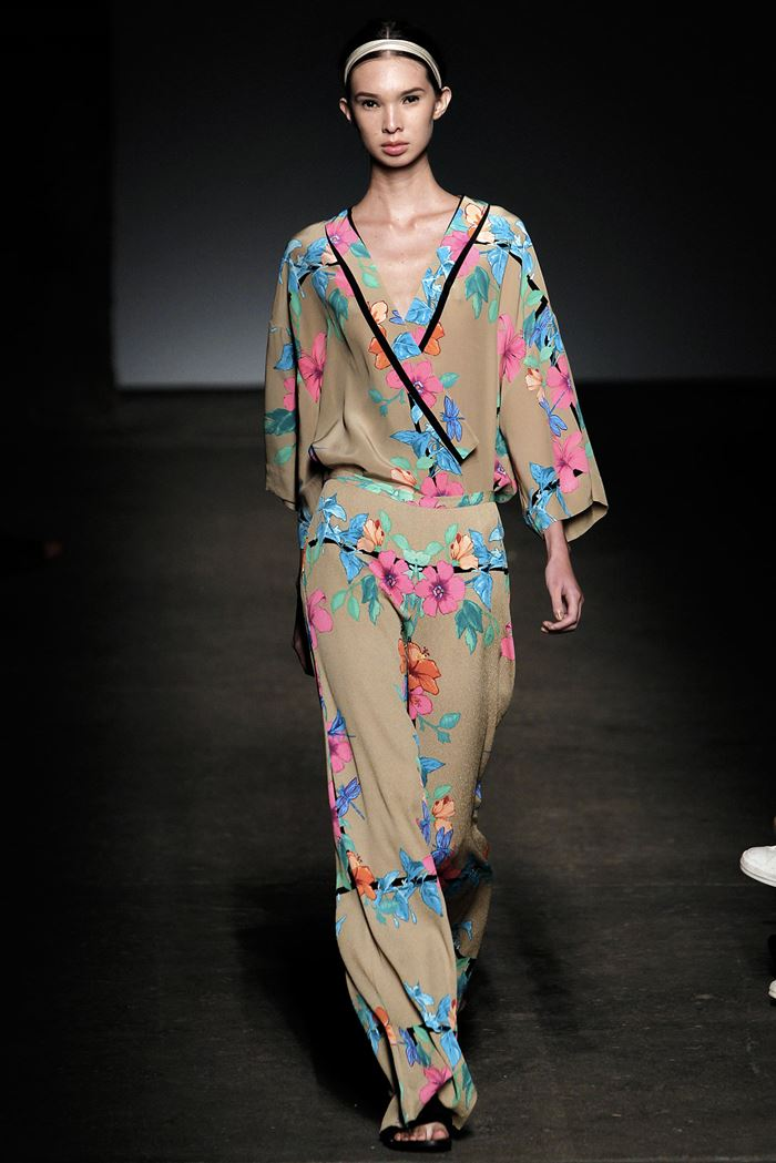 Tracy Reese  jumpsuit spring summer 2015