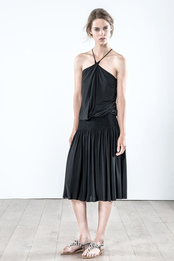 Vanessa Bruno pleated skirt spring summer 2015