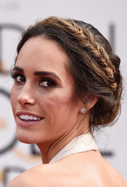 2015 Celebrity Braided Hairstyles: Louise Roe