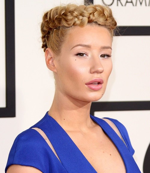 2015 Celebrity Braided Hairstyles: Iggy Azalea