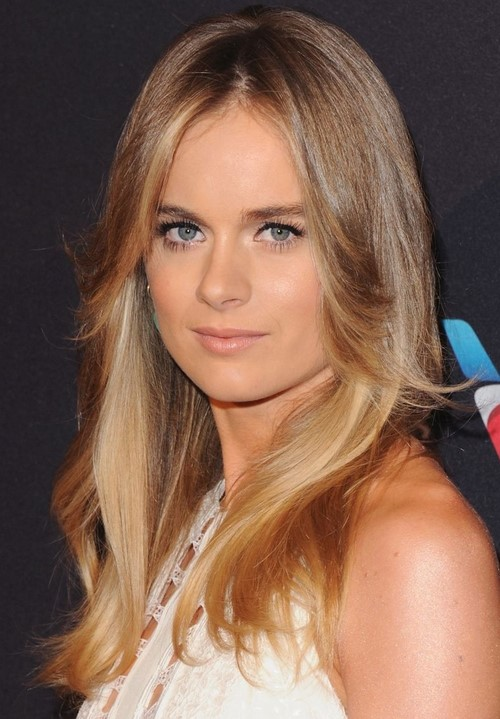 2015 Latest Long Hairstyles: Cressida Bonas