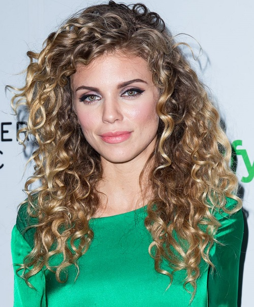 2015 Long Curly Hairstyles: Annalynn McCorde