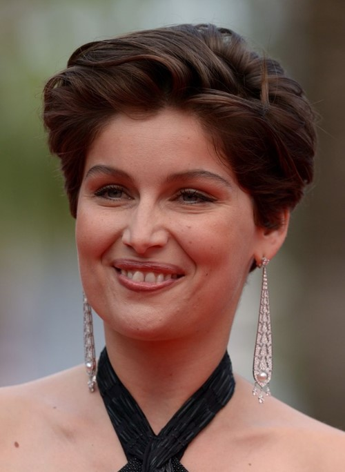 2015 Straight Hairstyles for Work: Laetitia Casta