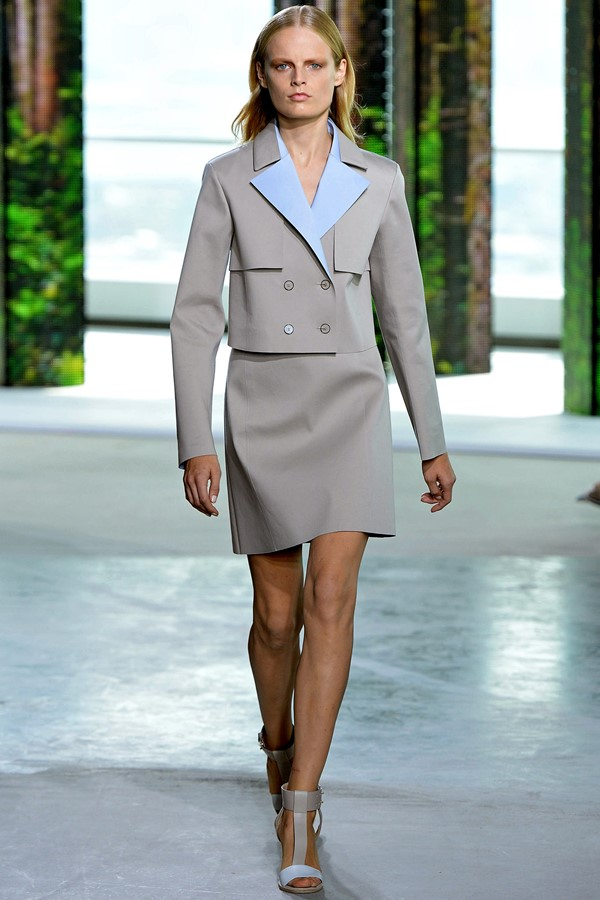 Boss Skirt Suit Spring-Summer 2015