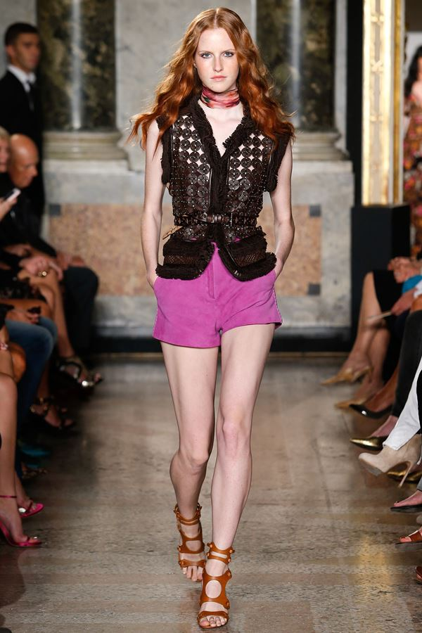 Emilio Pucci  Women's Vests Summer 2015