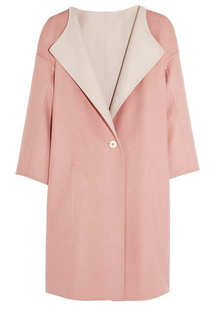 Jil Sander oversized coat 2015