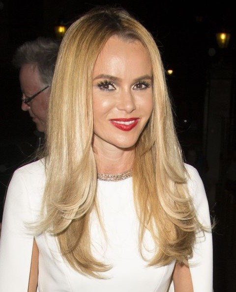 Long Layered Hairstyles 2015: Amanda Holden