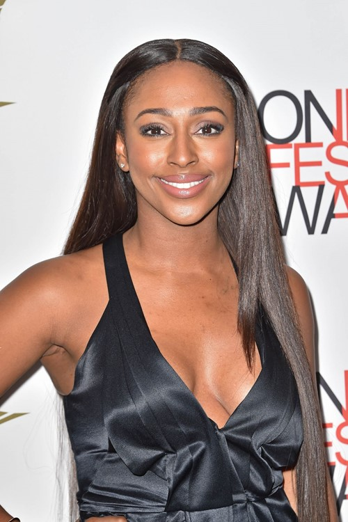 Long Straight Hairstyles 2015: Alexandra Burke