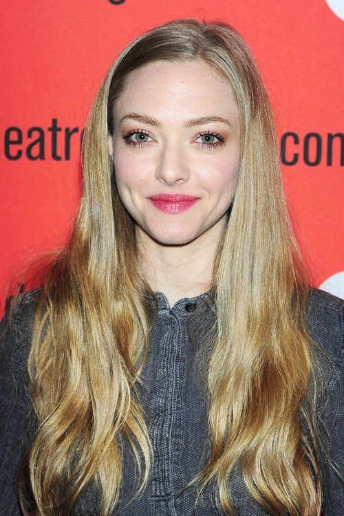 Long Straight Hairstyles 2015: Amanda Seyfried