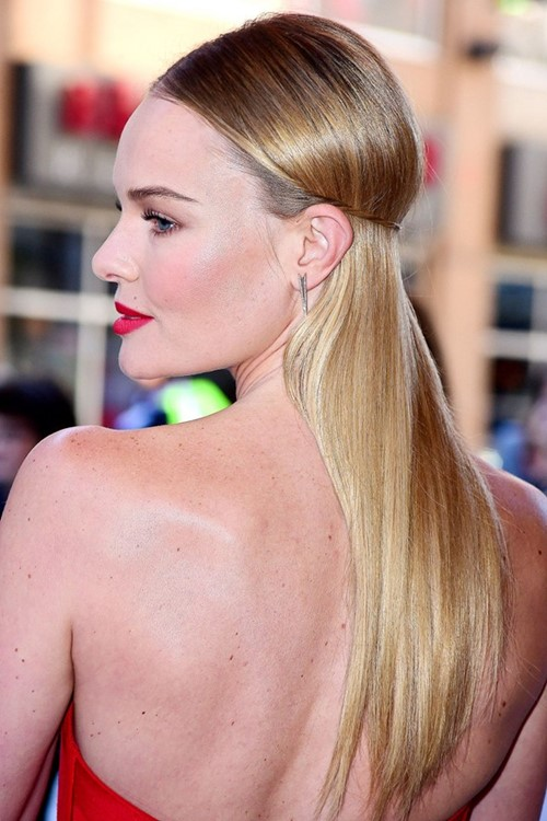 Long Straight Hairstyles 2015: Kate Bosworth