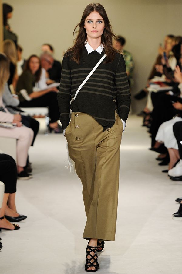 Sonia Rykiel Cropped Pants for Summer 2015