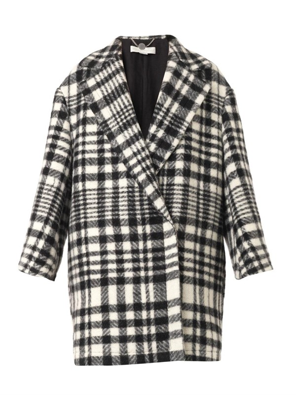 Stella McCartney oversized coat 2015