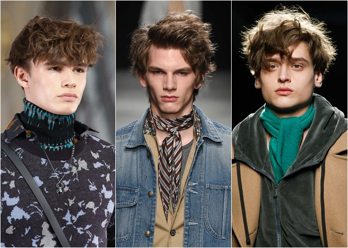 Popular men hairstyles 2015: casual messy hair
