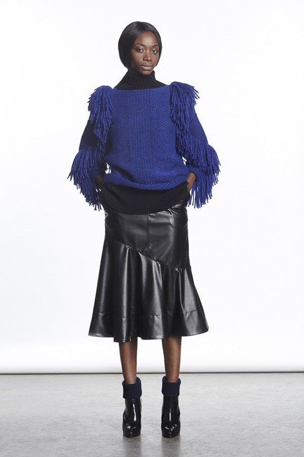 Rachel Comey Leather Skirts Fall-Winter 2015-2016