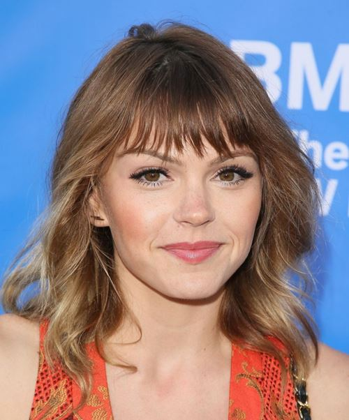 Medium Length Hairstyles for Women 2015  Aimee Teegarden