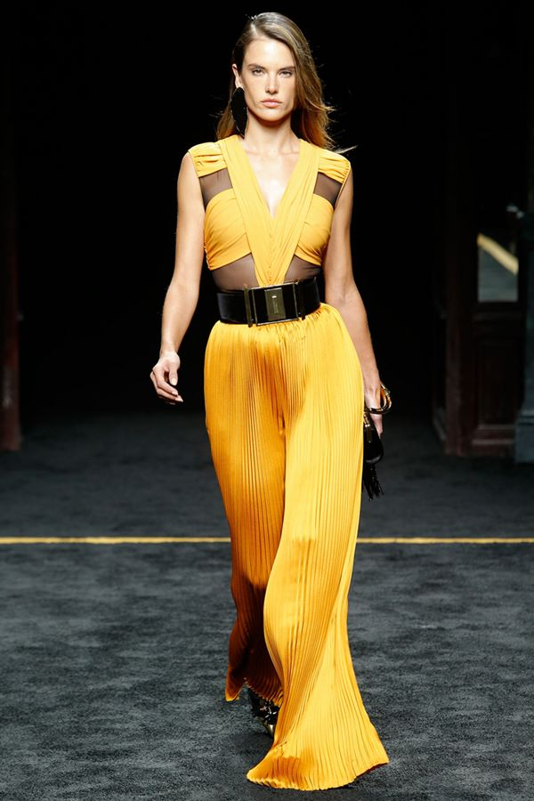Jumpsuit Fashion Trends Fall-Winter 2015-2016 Balmain