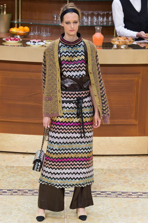 Knitted Cardigans for Women Fall-Winter 2015-2016 Chanel
