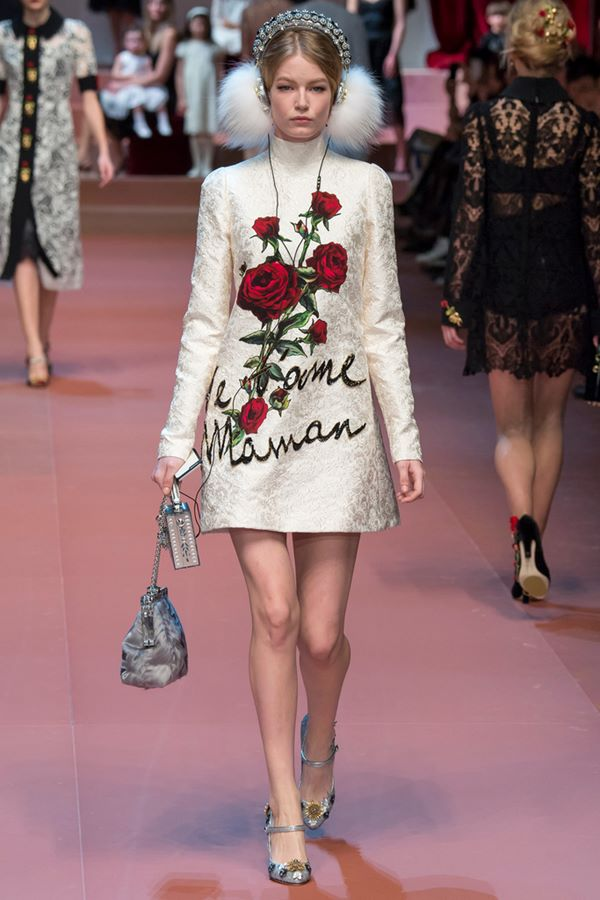 Cocktail Dresses Fall-Winter 2015-2016  Dolce & Gabbana