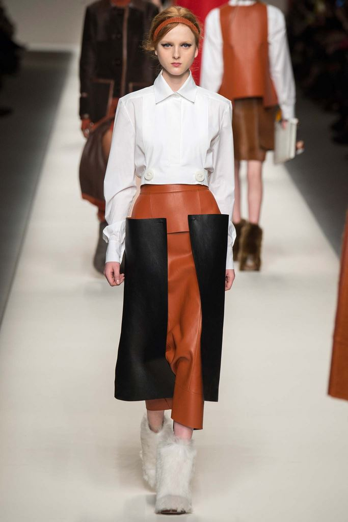 Women's Shirts and Blouses Fall-Winter 2015-2016 Fendi